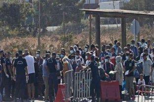 Grecia: unos 6.000 refugiados ya están en el nuevo campo de Lesbos