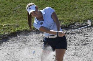 La golfista argentina Simmermacher se ubica décima en el Abierto de Francia