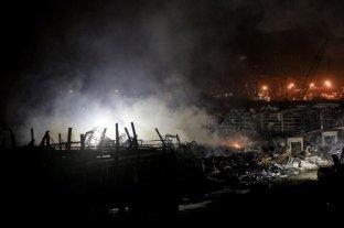 Hallan una tonelada de fuegos artificiales en el puerto de Beirut un mes después de la explosión