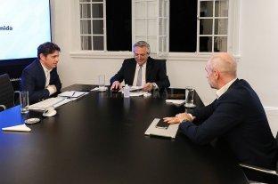 Nación gasta en Capital Federal 40 veces más que lo que le sacó de coparticipación - Fernández, Rodriguez Larreta y Kicillof volvieron a reunirse esta semana en Olivos. -