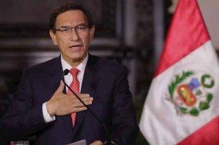 El Congreso de Perú decidirá el lunes si abre otro juicio a Martín Vizcarra