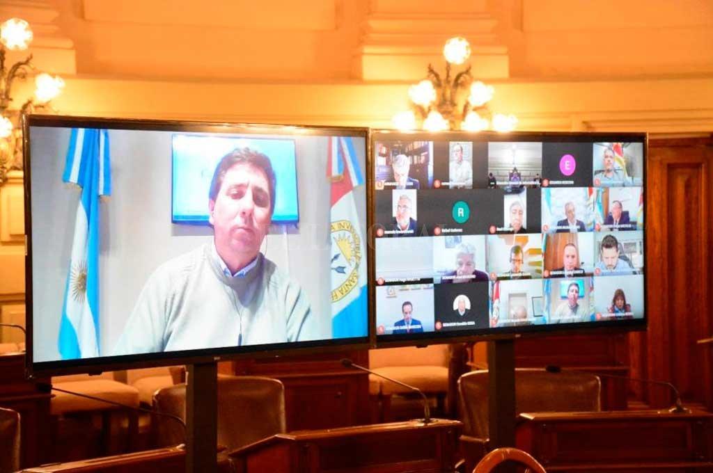 Rubén Pirola (PJ-Las Colonias) presentó hace más de cuatro meses el proyecto de reforma. Logró el apoyo de todos sus pares, en un momento especial.  Crédito: Archivo El Litoral