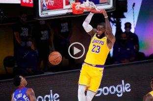 Los Lakers vencieron a Denver Nuggets y sacaron ventaja en la final del Oeste