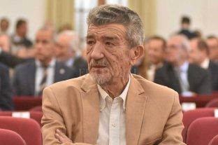 Aval para una pensión a José María Vernet   - José María Vernet en su última presencia en nuestra ciudad, el día de la jura de Omar Perotti.