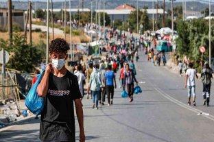Hay más de 200 casos de coronavirus en el nuevo campo de Lesbos