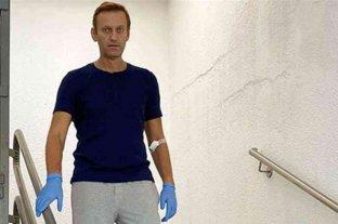 Navalny publicó un mensaje sobre su recuperación tras el presunto envenenamiento