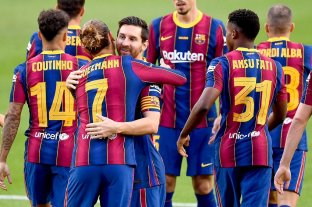 """Con Messi en buen nivel Barcelona ganó el trofeo """"Joan Gamper"""""""