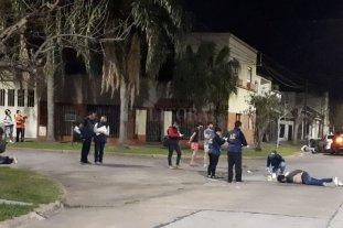Prisión para los estafadores que se tirotearon en Guadalupe - Tras el enfrentamiento uno de los delincuentes fue detenido en el lugar