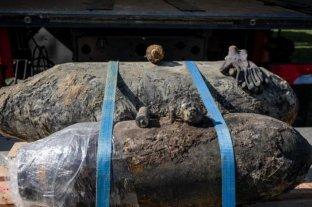 Desactivaron bombas sin detonar de Segunda Guerra Mundial en Alemania
