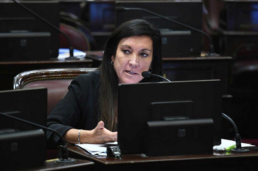 Laura Rodríguez Machado, senadora de Juntos por el Cambio. Crédito: Archivo