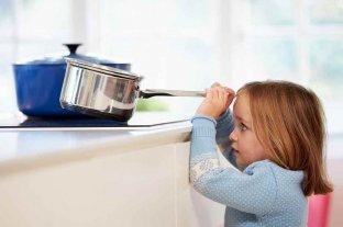Advierten que en pandemia aumentaron los accidentes domésticos de los más chicos