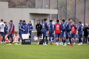 La Selección Argentina empezará a entrenarse el lunes 5 de octubre con 35 convocados
