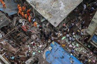 India: Al menos ocho muertos al derrumbarse un edificio en Mumbai