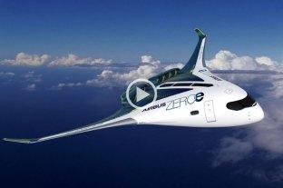 Airbus presentó los primeros aviones propulsados con hidrógeno