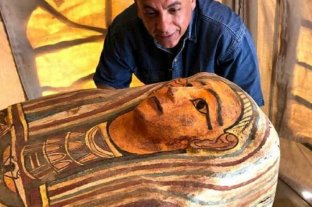 Encuentran 27 sarcófagos de 2.500 años de antigüedad en Egipto
