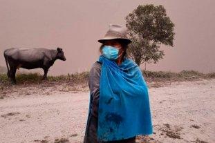 Ecuador: Las cenizas del volcán Sangay afectaron a más de 80 mil hectáreas en cultivos