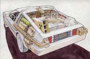 """Falleció Ron Cobb, diseñador del DeLorean de """"Volver al futuro"""""""