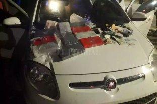 Condenaron en Santa Fe a dos narcos con 10 kilos de cocaína - El tribunal que dictó sentencia ordenó el decomiso del auto Fiat Palio en el que transportaban la droga. -