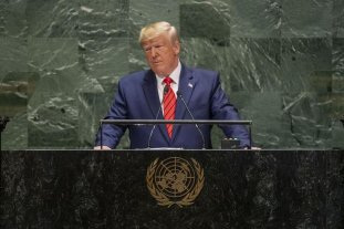 "Trump pidió a la ONU que ""se responsabilice"" a China por la pandemia del coronavirus"