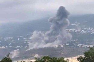Fuerte explosión en un edificio del Hezbollah en el sur del Líbano
