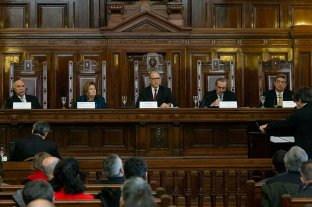 Jueces desplazados por el gobierno: el martes se reúne la Corte Suprema -  -