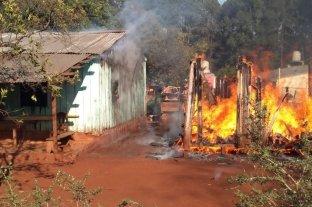 Murió un niño de 4 años al incendiarse una vivienda en Misiones