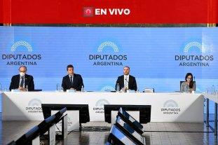 Guzmán presenta el presupuesto 2021 en Diputados -  -