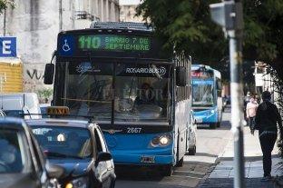 Otra vez los colectiveros paran en Rosario