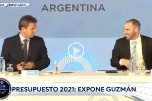"""Presentación del Presupuesto: el """"blooper"""" de Guzmán en la Cámara de Diputados"""