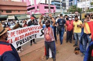 Comerciantes de Paraguay reclaman la reapertura de la frontera con Argentina