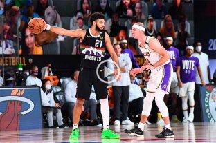 Denver Nuggets no se rinde: descontó en la serie ante Los Ángeles Lakers y sueña
