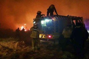 Quedan dos incendios activos en las sierras de Córdoba