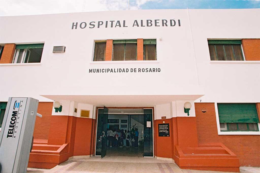 La víctima fue llevada al hospital Alberdi, pero llegó sin vida. Crédito: Gentileza