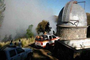 Incendios en Córdoba: Evacuaron el Observatorio Astronómico