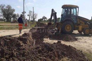 San Agustín: amplían la red de agua potable en distintos sectores del área urbana