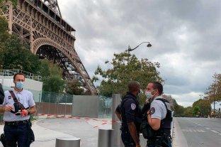 Descartaron la presencia de explosivos cerca de la Torre Eiffel