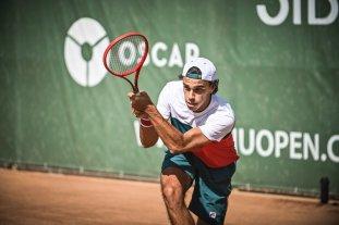Tenis: El argentino Francisco Cerúndolo avanza en Rumania