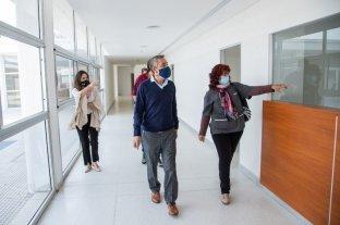 El nuevo hospital de Coronda será soporte de Covid-19 de los efectores santafesinos  -  -