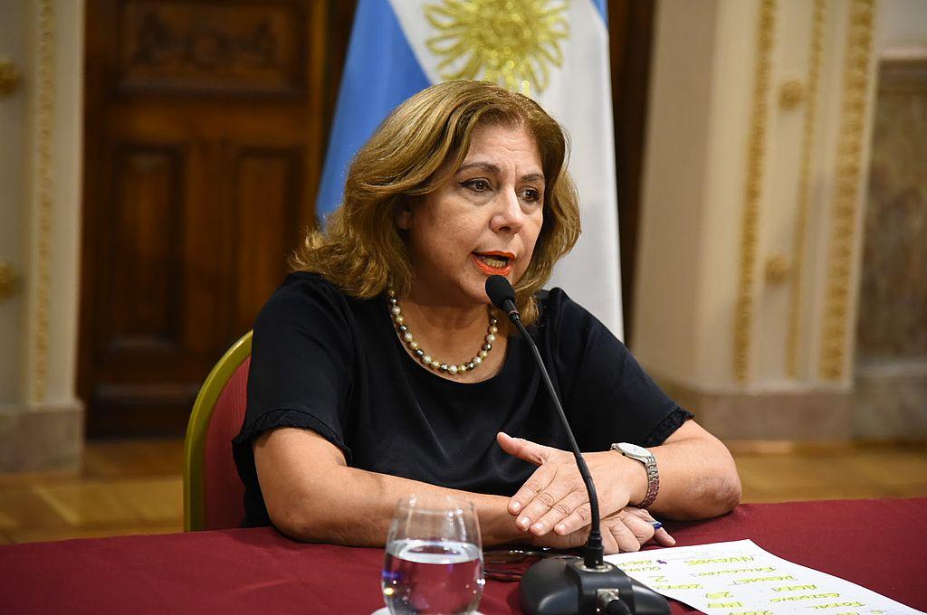 La ministra Martorano hizo un llamado al compromiso ciudadano en el momento más difícil de la emergencia sanitaria en la provincia. Crédito: Gentileza
