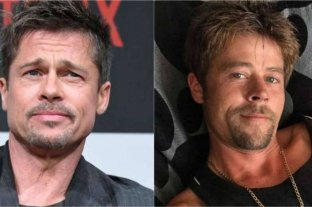 Viral: apareció un doble de Brad Pitt y arrasa en las redes