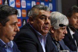 Tapia negó presión política a la AFA para que vuelva el fútbol