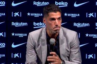 Emotiva despedida de Luis Suárez en el Barcelona