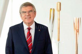 """El presidente del COI optimista por los juegos """"aptos para un mundo post Covid"""""""