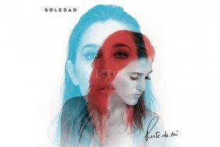 """Soledad adelantó """"Parte de mí"""", álbum que lanza el viernes - La portada del álbum, en el cual la cantante y compositora combina vivencias con un sonido latino e internacional. -"""