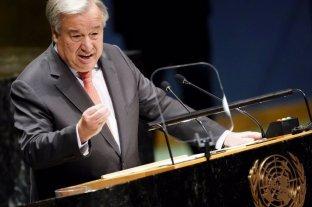 """La ONU advirtió que """"el mundo está ardiendo y es urgente revertir el curso del cambio climático"""""""