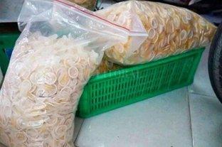 Vietnam: detenidos por lavar, reenvasar y vender preservativos usados