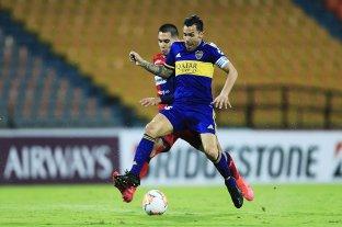 Boca derrotó sobre la hora a Independiente Medellín y quedó a un paso de los octavos de final