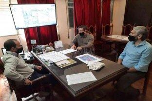 Borla entregó aportes para obras del sistema de agua potable en San Justo