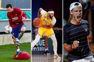 Horarios y TV: Fin de semana cargado de fútbol, básquet, automovilismo, motociclismo y tenis