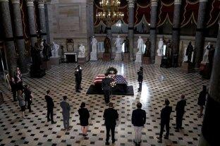 EEUU: Ruth Bader Ginsburg se convierte en la primera mujer con funeral de Estado